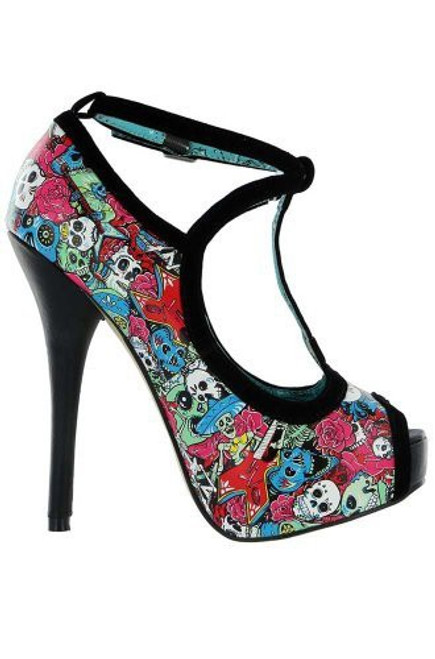 Iron Fist Tomb Sweeper Peep Toe Platform