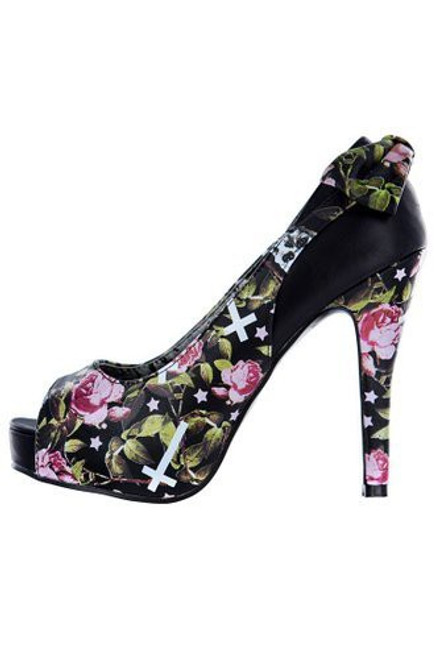 Iron Fist Kill Me Later Peep Toe Platform