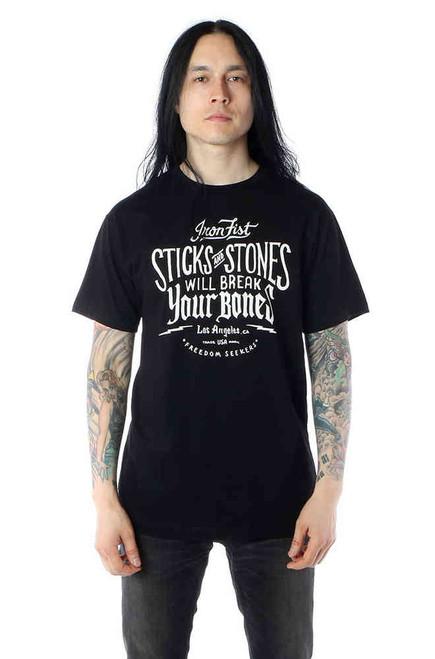 Iron Fist Stick & Stones Ss Tee  IFM-SST-12760