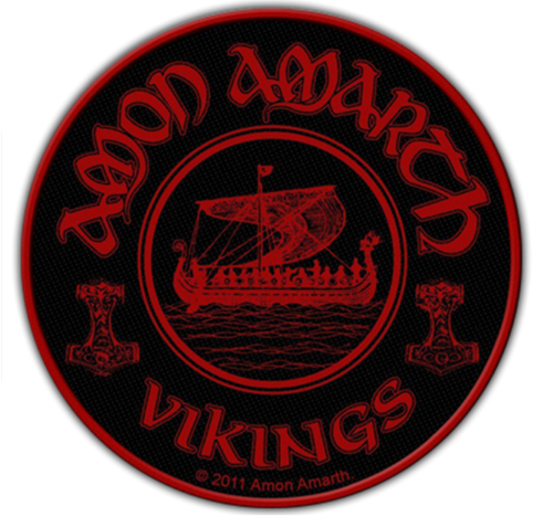 Amon Amarth vikings Patch SP2558
