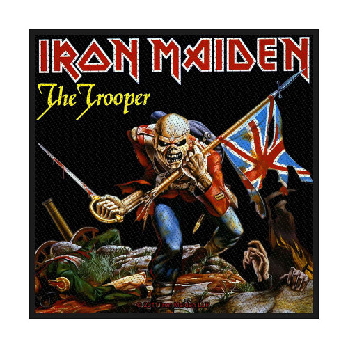 Iron Maiden The Trooper Patch SP2524