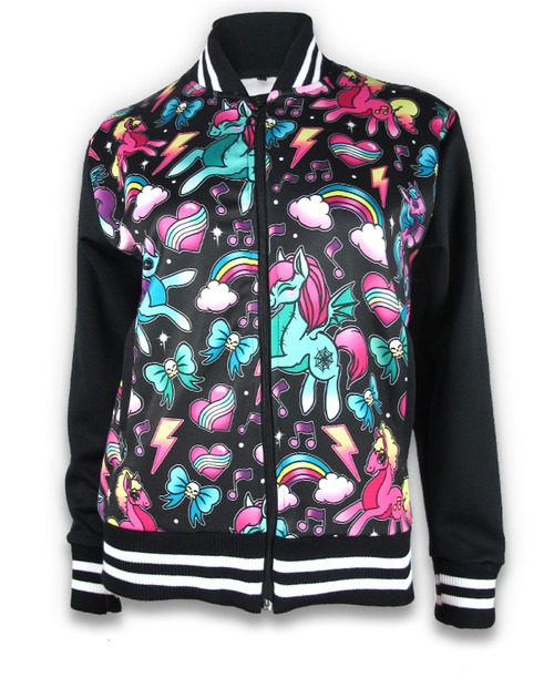 Unicorns Jacket Black GJK-020