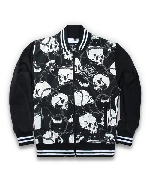 Skull And Chain Jacket Black GJK-003