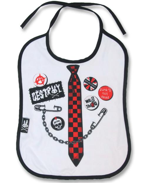 Punk Tie Baby Bib  BIB-047