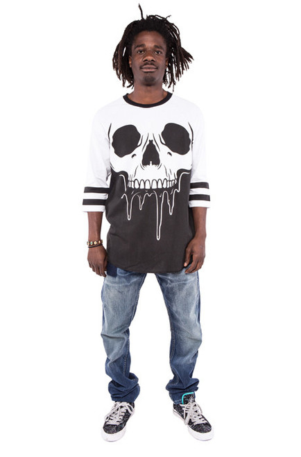 Face Melter Graphic Raglan Tee IFM-003998