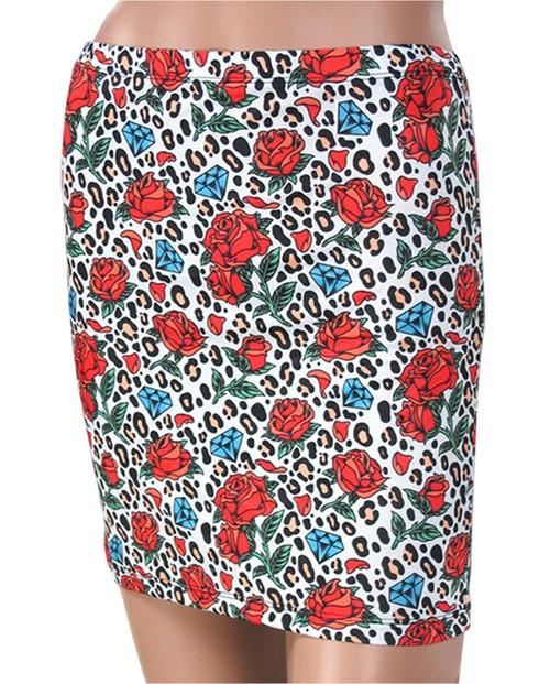 Liquor Brand Leo Rose Skirt