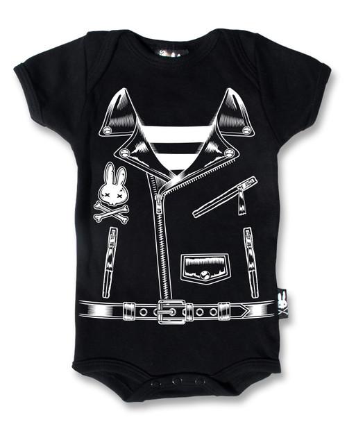 Six Bunnies Rocker Jacket Baby Romper  KK-121