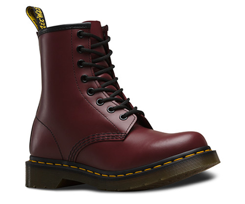 Dr. Martens Women's 1460 Cherry Red Smooth  DR-11821600