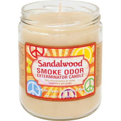 Smoke Odor Sandalwood 13oz Candle