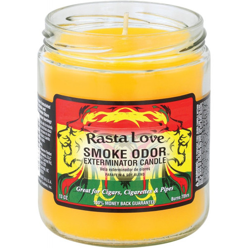 Smoke Odor Rasta Love 13oz Candle