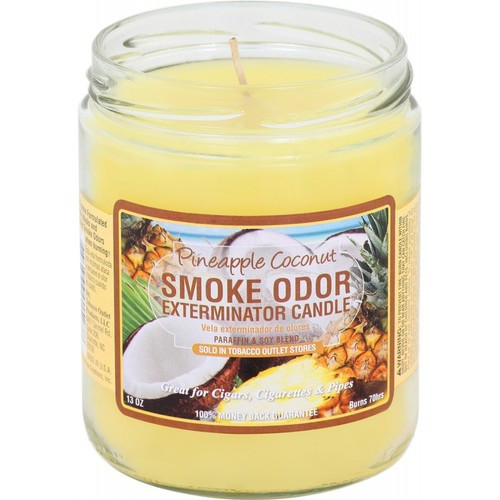 Smoke Odor Pineapple Coconut 13oz Candle