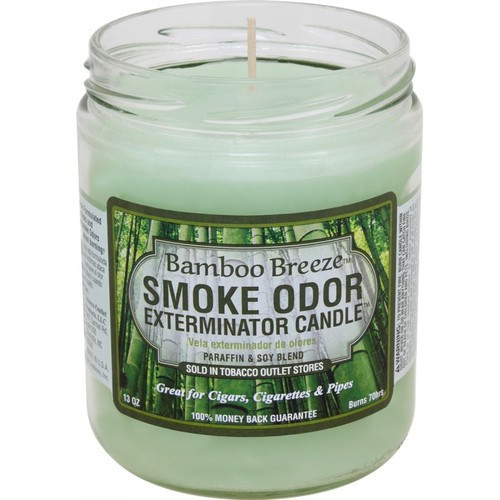 Smoke Odor Bougie Bamboo Breeze 13oz