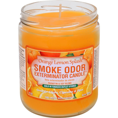 Smoke Odor Orange Lemon Splash 13oz Candle