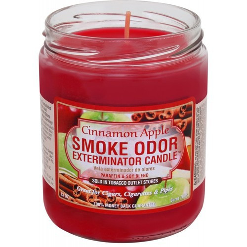 Smoke Odor Bougie pomme cannelle 13oz