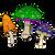Exhibas Mushroom Sock  EXHI-MUSH