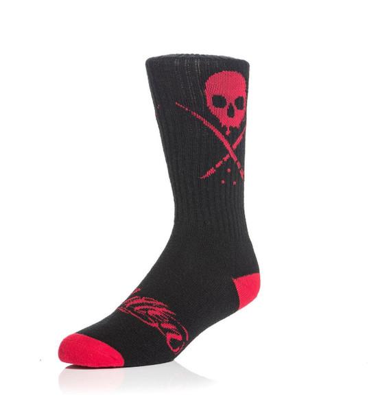 Sullen Standard Issue Socks Black/Red