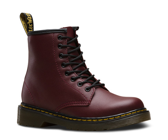 Dr. Martens Junior 1460 Cherry Red Softy T  DR-15382601