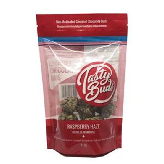 Tasty Bud Buds Raspberry Haze Chocolate 1 QP  TASTY-BUD-RASP-QP