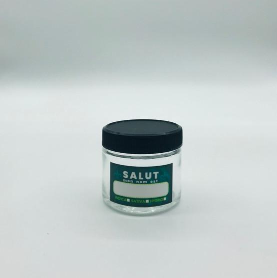 Kanna Signature Salut Mon Nom Est 2 Oz Glass Jar  KS-SALUT-2