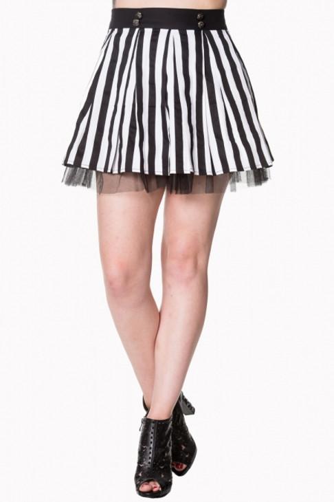 Banned Heart to Heart Mini Skirt
