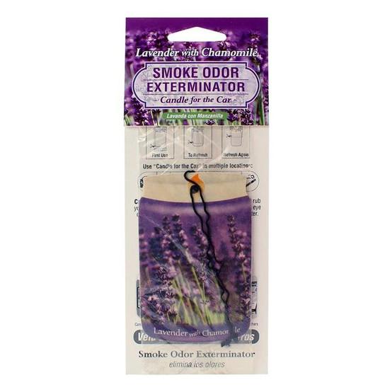 Smoke Odor Exterminator Car Freshner Lavender/Chamomile