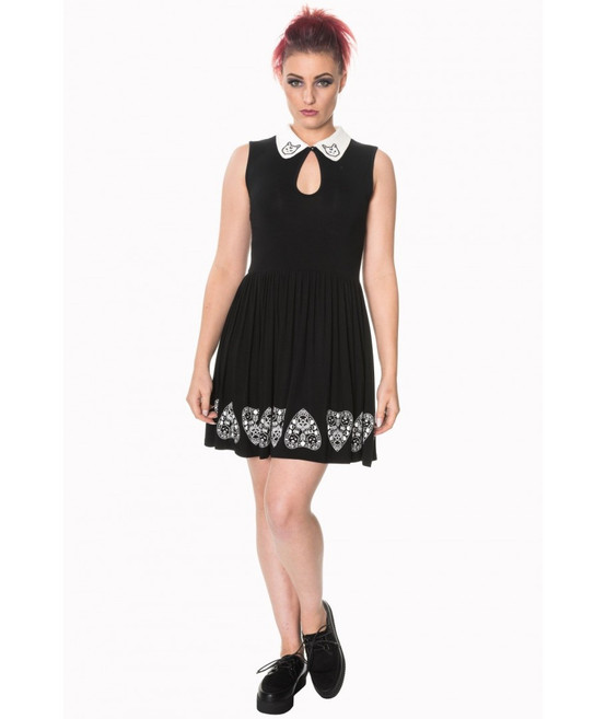 Banned Moonlight Silence Keyhole Detail Dress  DR-5191