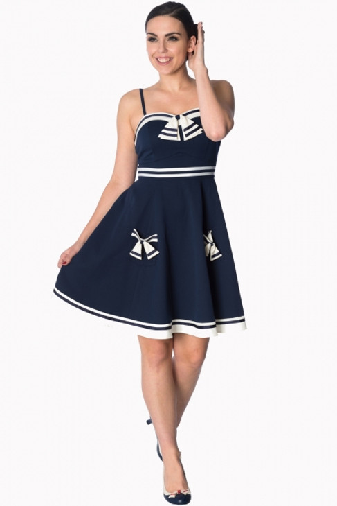 Banned Set Sail Srappy Dress  DR-5519