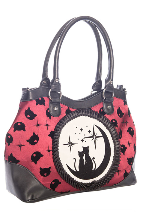 Banned Lunar Sisters Handbag  BG-34079