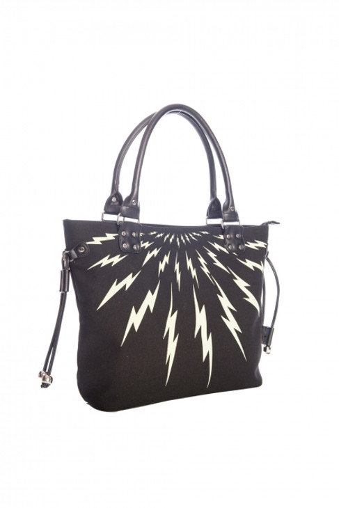 Banned Thunderbolt Tote Bag  BG-34068