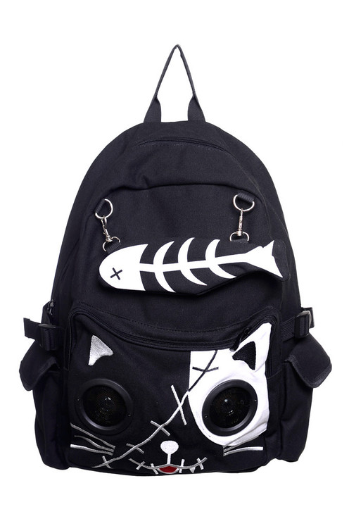 Banned Kitty Speaker Backpack  BBN-728