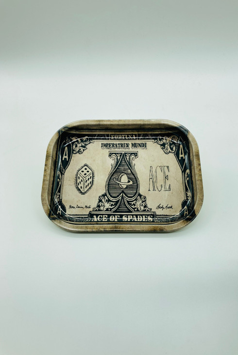 Ace of Spades Rolling Tray  RT-003