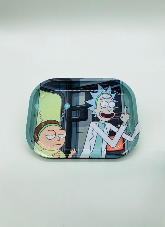 Rick and Morty Fuck You Rolling Tray  RT-018