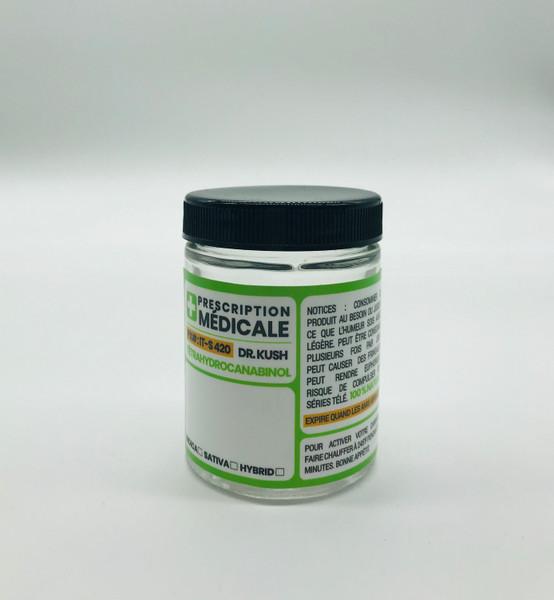 Kanna Signature Prescription Médicale 4oz Glass Jar  KS-PRESCRIPTION-4