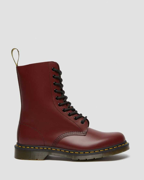 Dr. Martens 1490 Cherry Red Smooth  DR-11857600