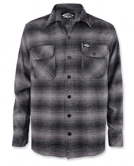 Liquor Brand Grey Flannel Shirt  LB-MSF-19001-NCL