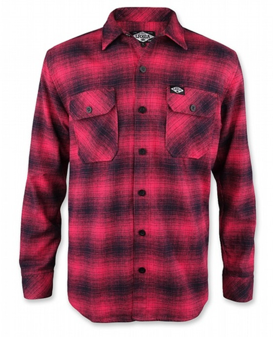 Liquor Brand Red Flannel Shirt  LB-MSF-19002-NCL