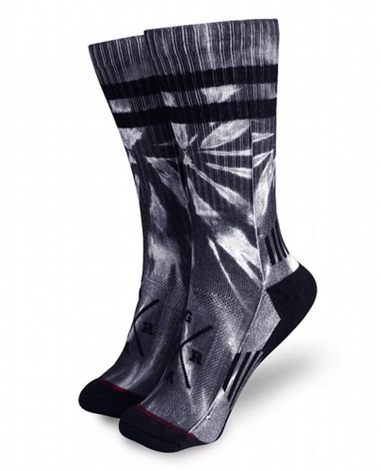 Loose Riders Tie Dye Grey Socks  LR-ASOT-19001-NCL