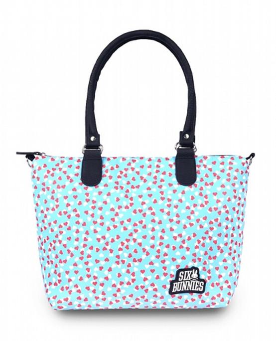 Six Bunnies Hearts Diaper Bag  SB-ABDX-19001-NCL