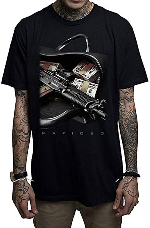 Mafioso Bag Boy Black T-Shirt