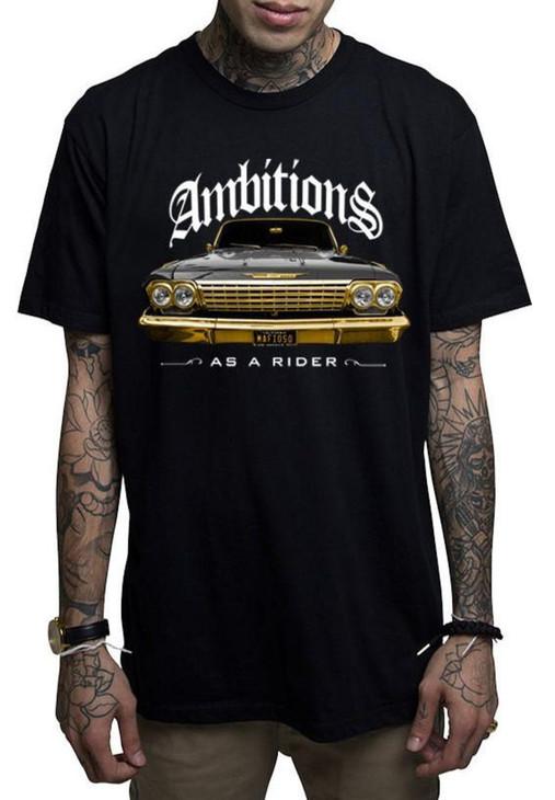 Mafioso Ambitions Black T-Shirt