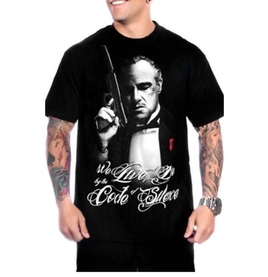 Mafioso Silencer Black T-Shirt