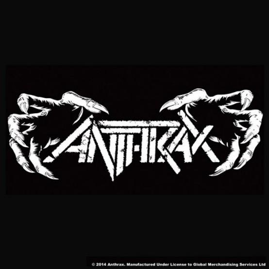 Anthrax Single Cork Coaster Death Hands (ANTH-COAS-01)