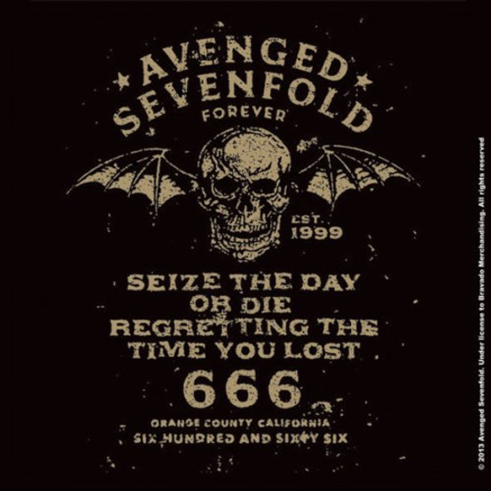 Avenged Sevenfold Single Cork Coaster Seize the Day  (AS-COAS-01)