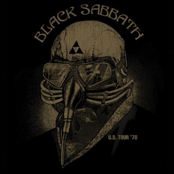 Black Sabbath Single Cork Coaster US Tour 1978