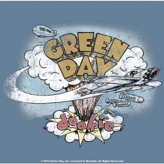 Green Day Dookie Single Cork Coaster