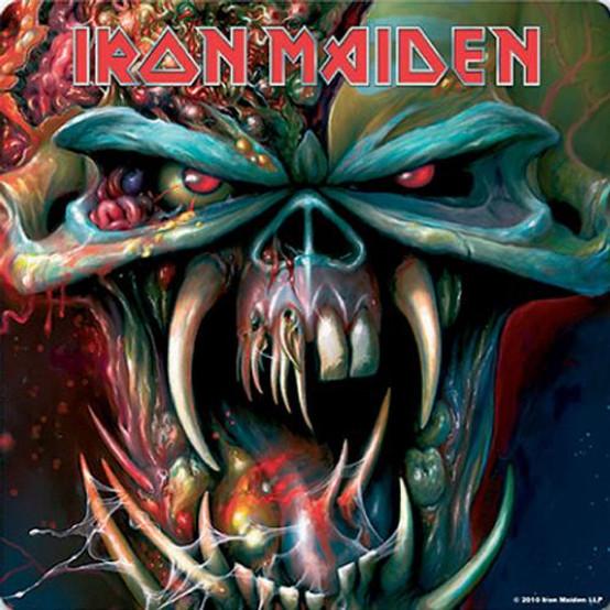 Iron Maiden Final Frontier Single Cork Coaster
