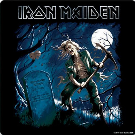 Iron Maiden Single Cork Coaster Benjamin Breeg