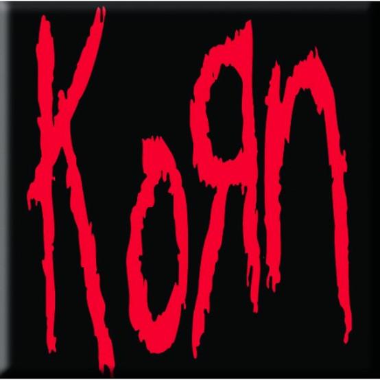 Korn Single Cork Coaster Logo