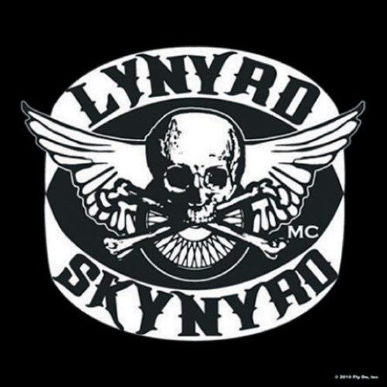 Lynyrd Skynyrd Single Cork Coaster Biker Patch