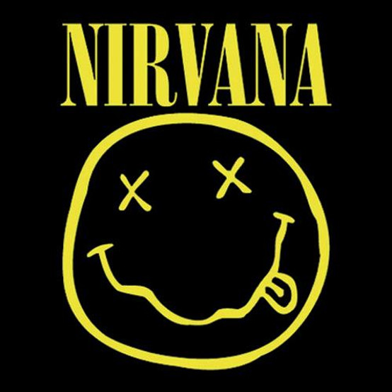 Nirvana Single Cork Coaster Smiley